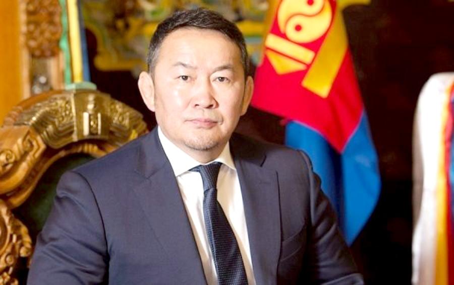 訪中したモンゴル大統領、帰国後14日間病院で隔離